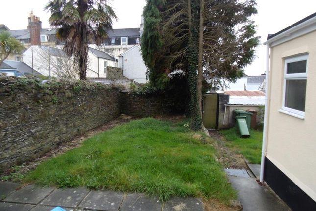Rear Garden of Haddington Road, Plymouth, Devon PL2