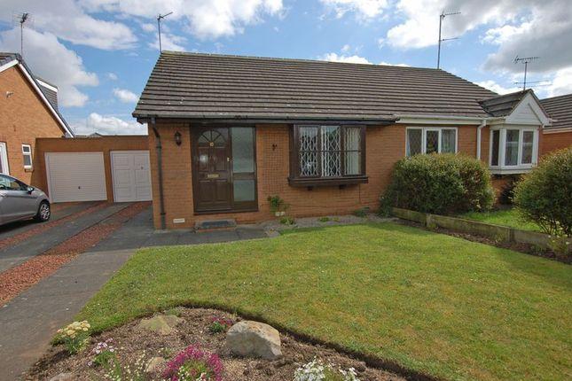 Thumbnail Semi-detached bungalow to rent in Eland Edge, Ponteland, Newcastle Upon Tyne