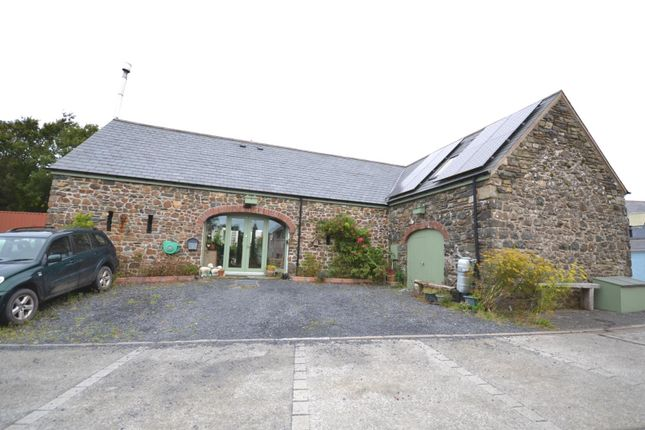 Thumbnail Barn conversion for sale in Ffordd Yr Afon, Trefin, Haverfordwest