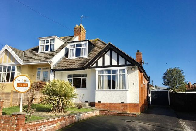 Thumbnail Semi-detached house for sale in Grove Road, Milton, Weston-Super-Mare