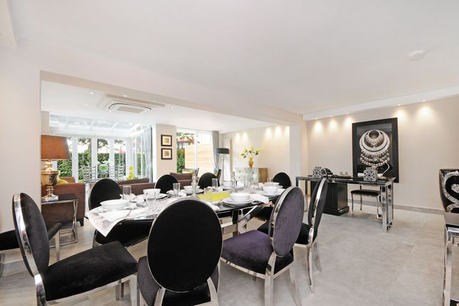 Thumbnail End terrace house to rent in Boydell Close, St Johns Wood