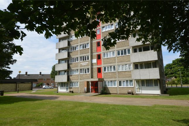 Thumbnail Flat for sale in Ashbourne Tower, Watling Road, Heartsease, Norwich