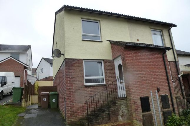 Thumbnail Semi-detached house to rent in Shapleys Gardens, Staddiscombe, Plymouth, Devon