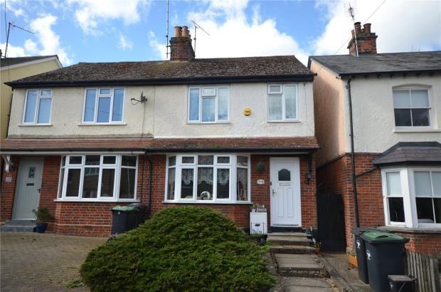 Thumbnail Semi-detached house for sale in Victoria Avenue, Saffron Walden, Essex