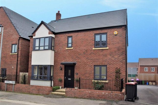 Thumbnail Detached house for sale in Darrall Road, Lawley Village, Telford