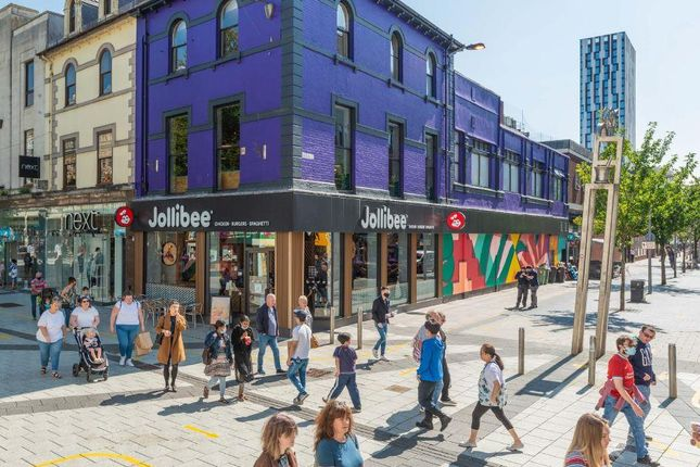 Thumbnail Commercial property for sale in Queen Street, Cardiff