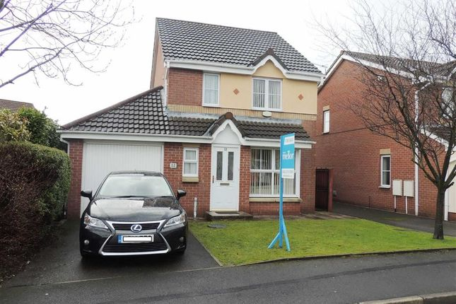 Thumbnail Detached house for sale in Garforth Crescent, Droylsden, Manchester