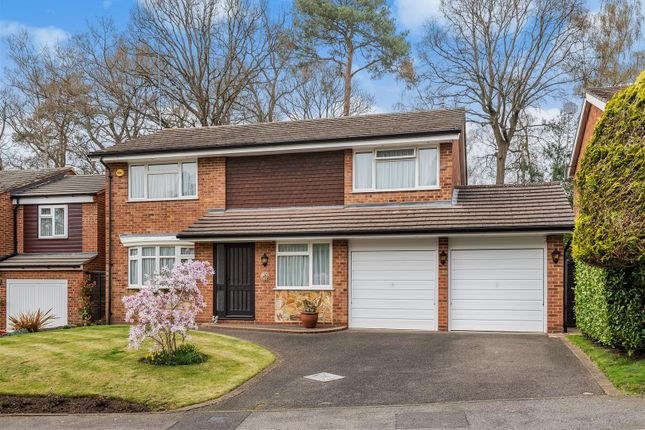 Thumbnail Detached house for sale in Llangar Grove, Crowthorne, Berkshire