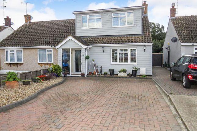 Thumbnail Semi-detached bungalow for sale in Greenleas, Benfleet