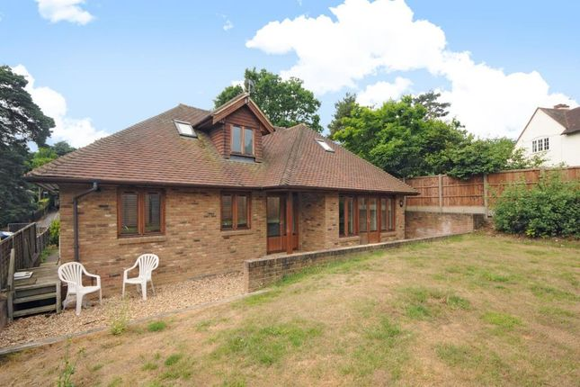 Thumbnail Detached bungalow to rent in Ambleside Road, Lightwater
