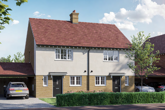 2 bed semi-detached house for sale in Templar Green, Polecat Road, Cressing, Braintree CM77