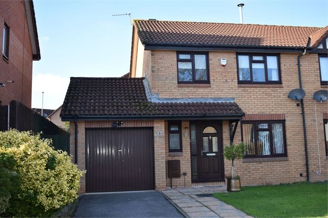 Thumbnail Semi-detached house to rent in Hopewell Close, Chepstow, Monmouthshire
