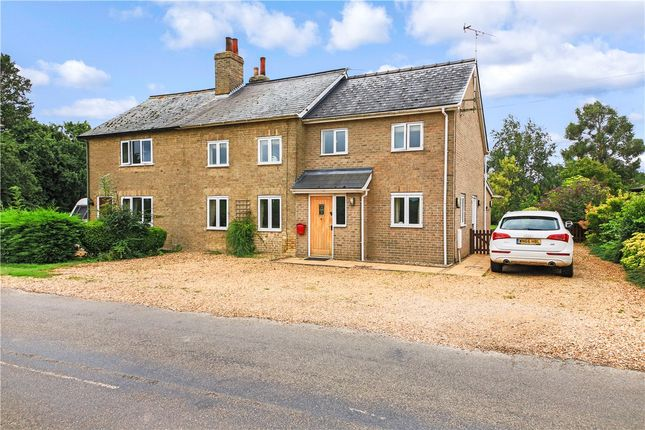 Thumbnail Semi-detached house for sale in Elsworth Road, Boxworth, Cambridge