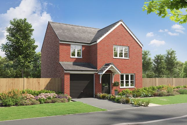 """Thumbnail Detached house for sale in """"The Burnham"""" at Heol Stradling, Coity, Bridgend"""