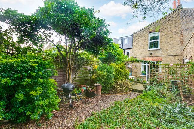 Garden of Wormholt Road, Shepherd's Bush, London W12