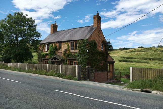 Thumbnail Detached house for sale in Croxton, Hanmer, Whitchurch