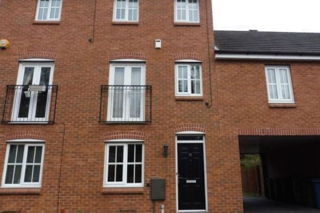 Thumbnail Town house to rent in Pioneer Way, Stafford