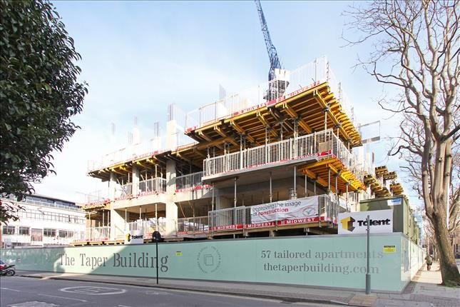 Thumbnail Flat for sale in Taper Building, 175 Long Lane, London
