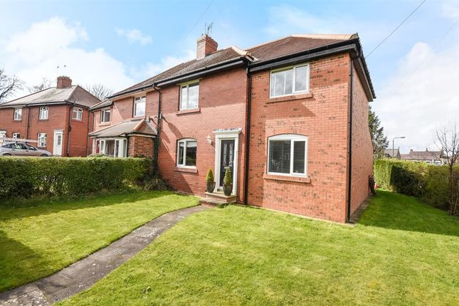3 bed semi-detached house for sale in Finden Gardens, Hampsthwaite, Harrogate