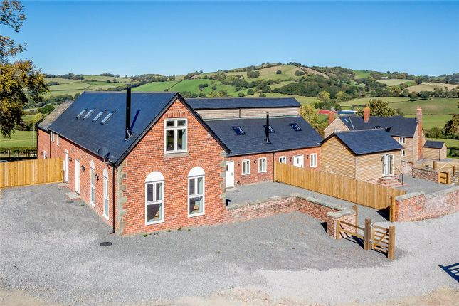 Thumbnail Barn conversion for sale in Plot 1, Upper Pen Y Gelli Farm, Kerry, Powys