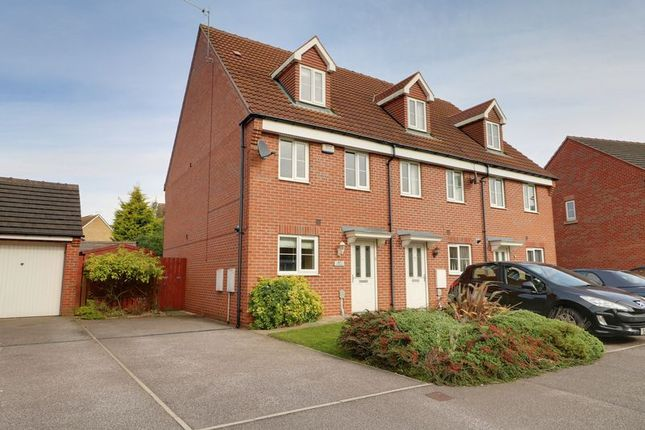 Thumbnail Terraced house for sale in Kingscroft Drive, Welton, Brough