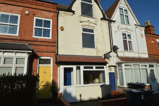 Terraced house in   Waterloo Road  Kings Heath  Birmingham  Birmingham