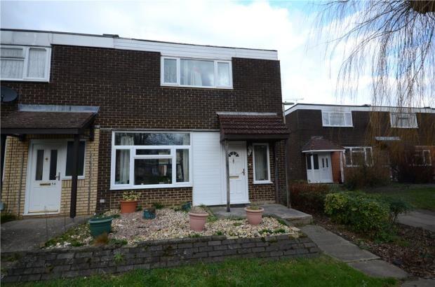 Thumbnail End terrace house for sale in Houseman Road, Farnborough, Hampshire