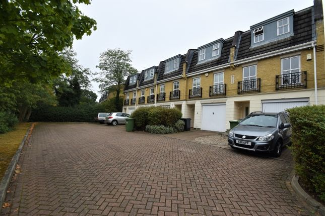 Thumbnail End terrace house to rent in Napier Court, Somertrees Avenue, London