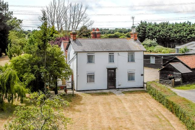 Thumbnail Detached house for sale in London Road, Rawreth, Wickford, Essex