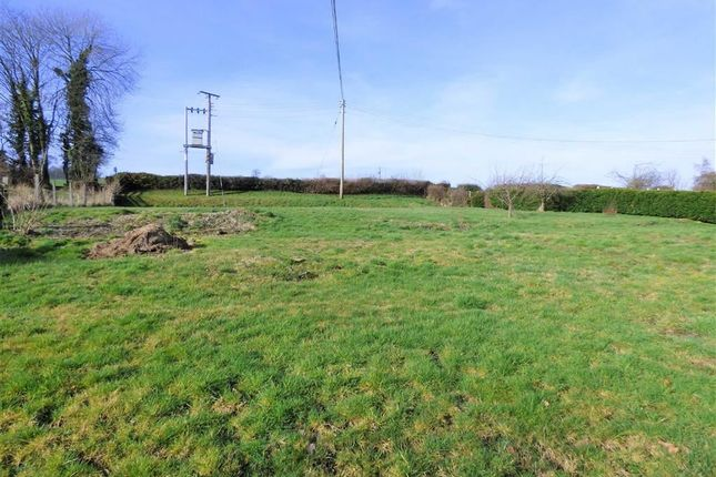Land for sale in Abbey Close, Pool Quay, Welshpool