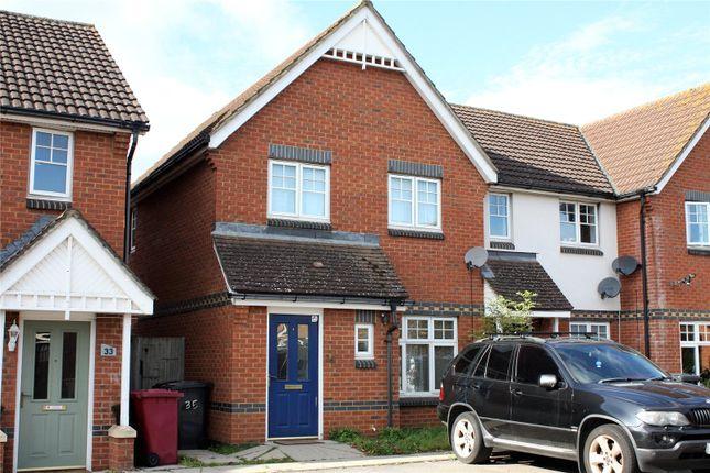 Thumbnail End terrace house to rent in Clonmel Close, Caversham, Reading, Berkshire