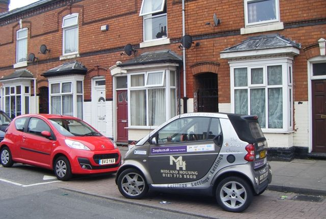Thumbnail Terraced house to rent in Palace Road, Small Heath, Birmingham