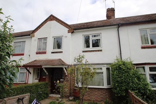 Thumbnail Terraced house to rent in Silverwood Close, Cambridge