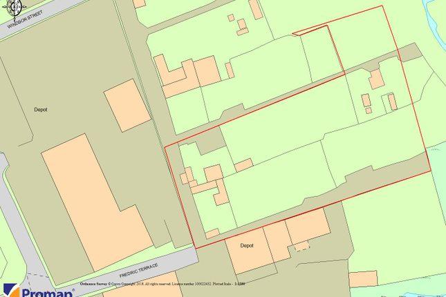 Thumbnail Land for sale in Windsor Street, Stockton