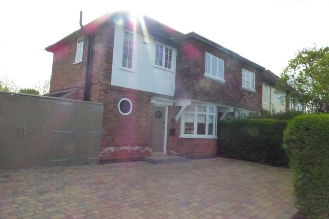 Thumbnail Semi-detached house for sale in Wigley Road, Off Scraptoft Lane, Leicester