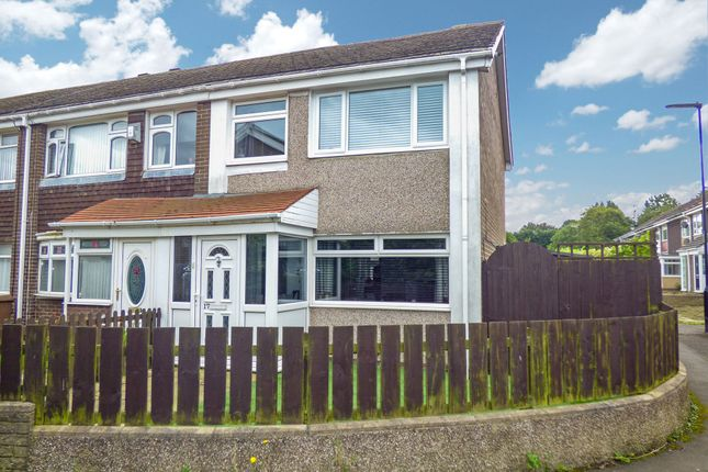 Thumbnail 3 bed terraced house for sale in Goodwood, Killingworth, Newcastle Upon Tyne