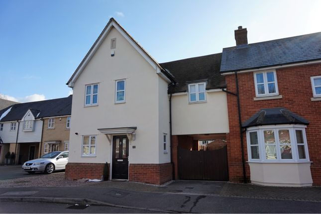 Link-detached house for sale in Elmwood Avenue, Colchester