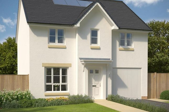 "Thumbnail 4 bed detached house for sale in ""Fenton"" at Frogston Road East, Edinburgh"