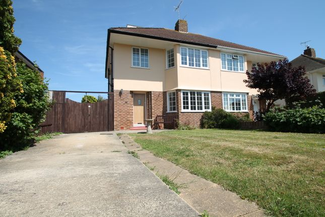 3 bed semi-detached house to rent in Nutley Close, Goring-By-Sea, Worthing BN12