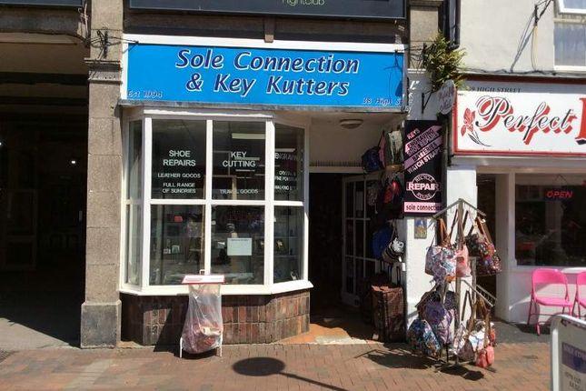 Thumbnail Retail premises for sale in 38 High Street, Gosport