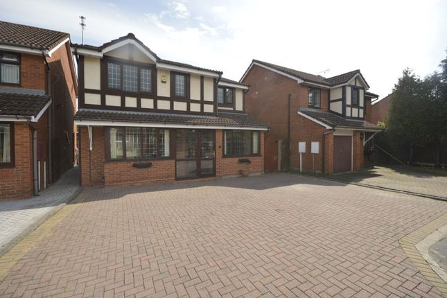 Thumbnail Detached house to rent in Fordham Grove, Pendeford, Wolverhampton