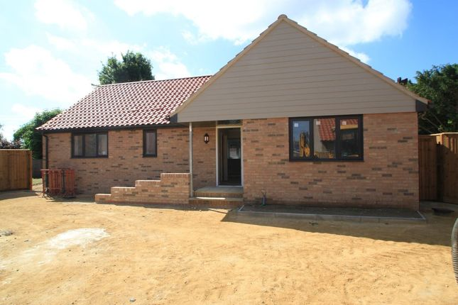 Thumbnail Detached bungalow for sale in Risby, Bury St Edmunds, Suffolk