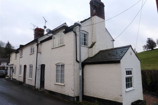 Thumbnail Terraced house to rent in 1, Oak Cottage, Llandyssil, Powys