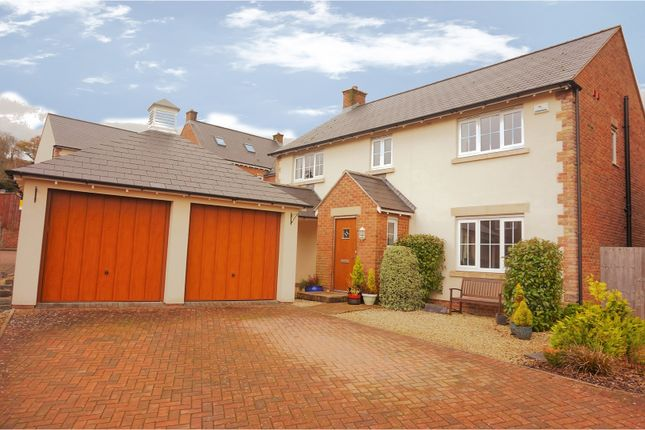 Thumbnail Detached house for sale in Cassia Drive, Usk