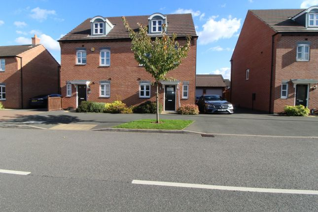 Thumbnail 4 bed semi-detached house to rent in Anglian Way, Coventry, West Midlands