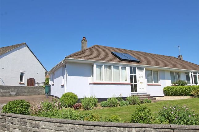 Thumbnail Semi-detached bungalow for sale in Whitby Crescent, Crownhill, Plymouth