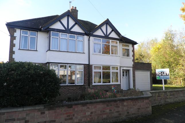 Thumbnail Semi-detached house to rent in South Avenue, Abingdon