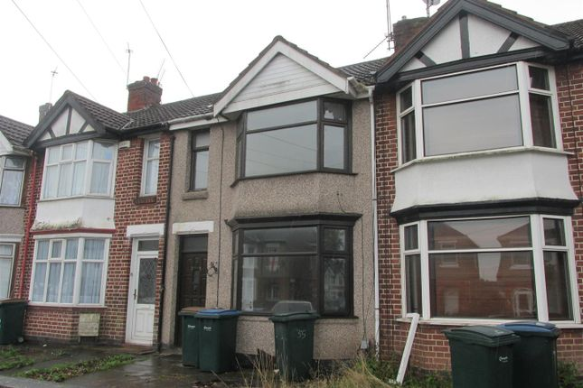 Thumbnail Terraced house to rent in Rotherham Road, Holbrooks, Coventry