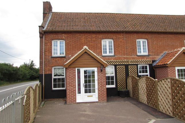 Thumbnail End terrace house for sale in Hepworth, Diss