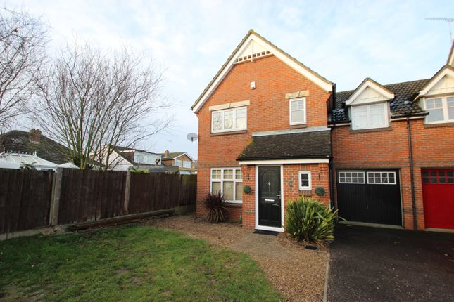 Thumbnail Semi-detached house for sale in Romsey Drive, Benfleet